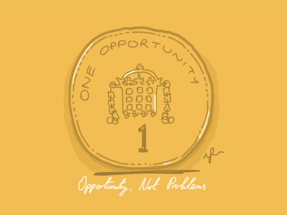 Opportunity, Not Problems