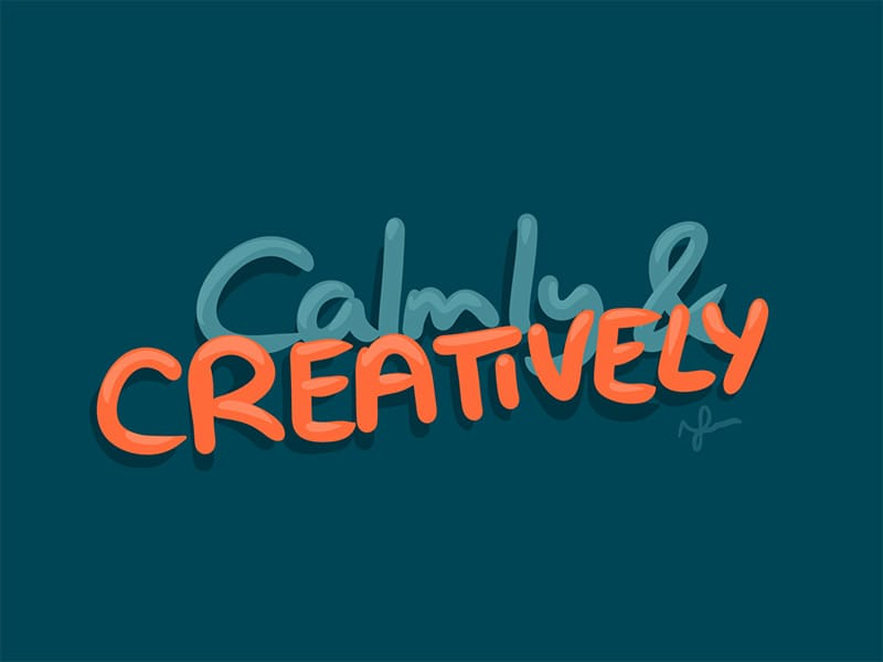 Calmly & Creatively