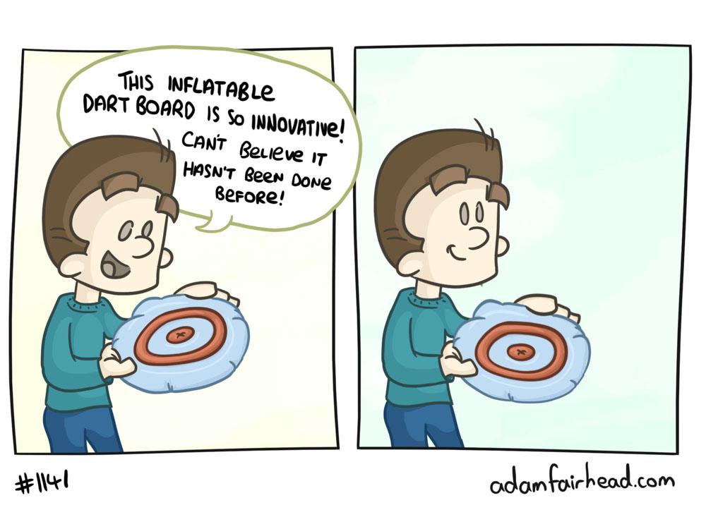 Innovative vs Useful