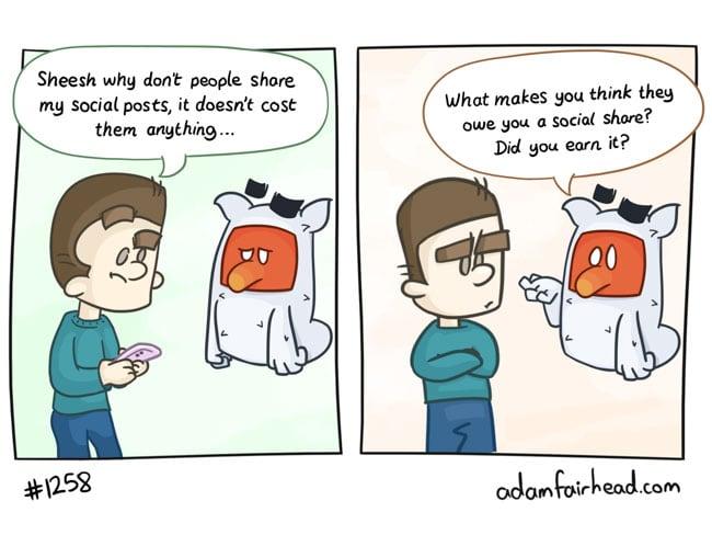 Sharing isn't free