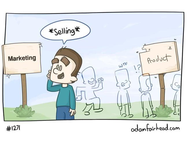 The hardest sale