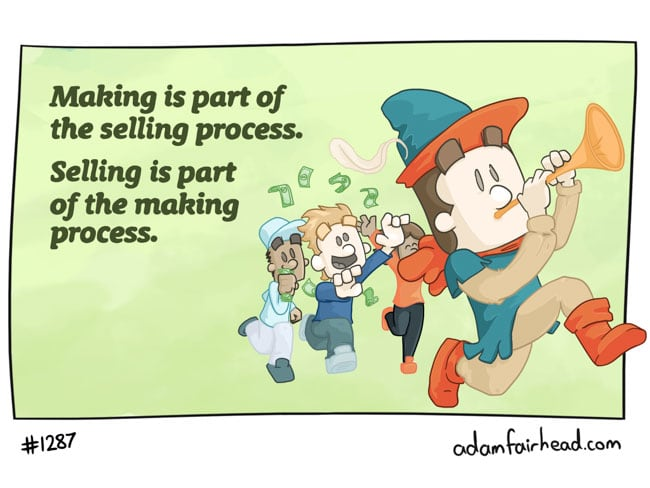 Making and selling