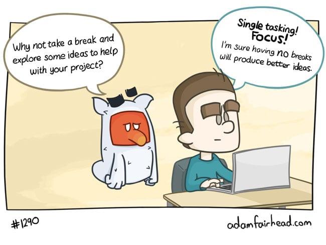 Multitasking gets a bad rap