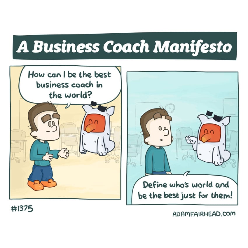 A Business Coach Manifesto