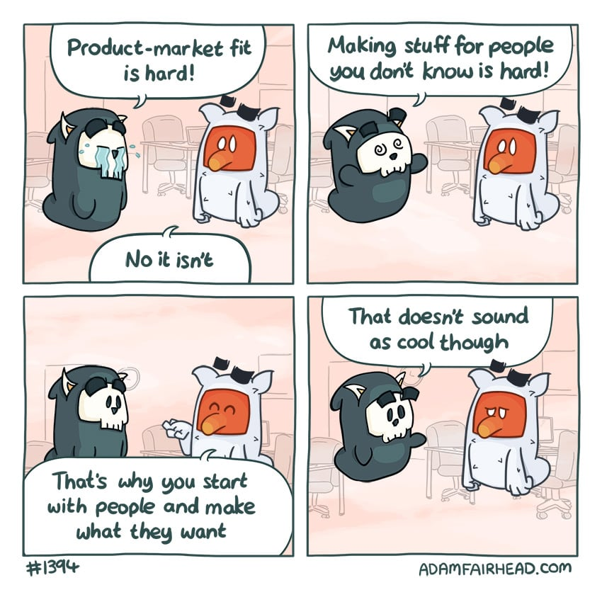 Product-Market Fit Is Easy